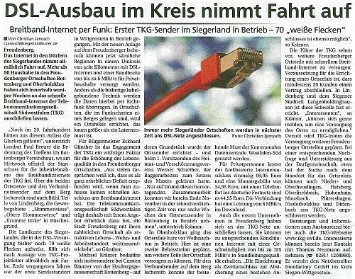 Siegerlandkurur, 3.02.2013