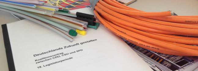 Die wichtigsten Aussagen zum Breitbandausbau aus dem Koalitionsvertrag      (Foto: TKG