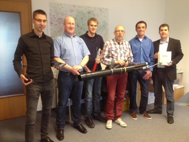 Mitarbeiter von TKG und BBCC.NRW im Erfahrungsaustausch               (Foto: Eggenstein)