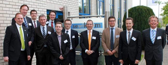Die Referenten: Kai-Timo Wilke (sewikom), Dr. Markus von Voss (PURtel.com), Stefan M. Glusa (Telekommunikationsgesellschaft Südwestfalen), Holger Schach (Regionalmanagement Nordhessen), Simon Schmidt (FAST Opticom), Markus Heil (Pan Dacom Networking), Sven Knapp (BREKO), Dr. Martin Fornefeld (Micus Management Consulting), Rechtsanwalt Johannes Hofmeister, Frank Pauer (Sub10 Systems), Uwe Beer (Beer Automotive Consulting)