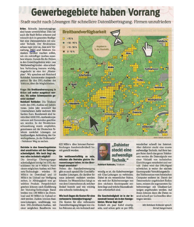 Westfalenpost, 13.11.2013