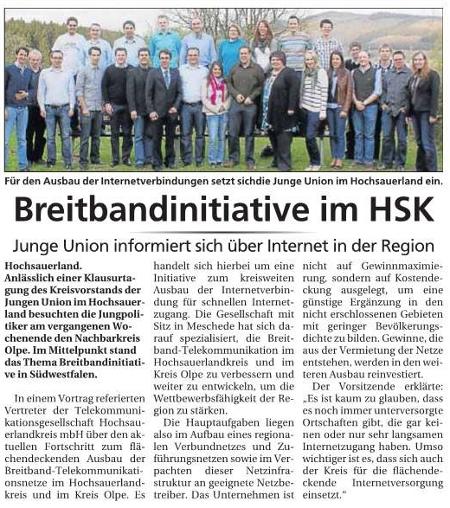 Sauerlandkurier vom 08.05.2011