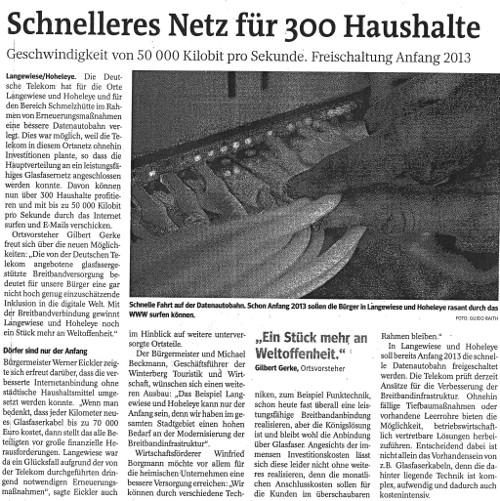 Westfalenpost, 3.10.2012